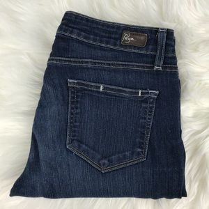 Paige Jeans Straight Leg Mid Rise